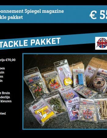 1-jarig abonnement Spiegel magazine met een LCA Tackle pakket