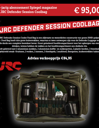 2-jarig abonnement Spiegel magazine met JRC Defender Session Coolbag