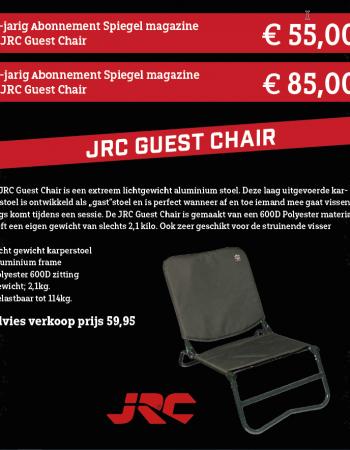 1 of 2 jarig abonnement Spiegel magazine met JRC Guest Chair
