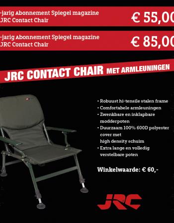 1 of 2 jarig abonnement Spiegel magazine met JRC Contact Chair met armleuningen