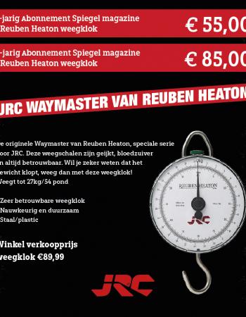 1 of 2 jarig abonnement Spiegel magazine met JRC Waymaster van Reuben Heaton