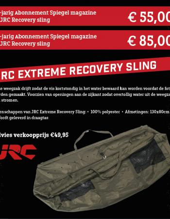 1 of 2 jarig abonnement Spiegel magazine met een JRC Extreme Recovery Sling