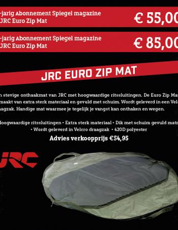 1 of 2 jarig abonnement Spiegel magazine met een JRC Euro Zip Mat